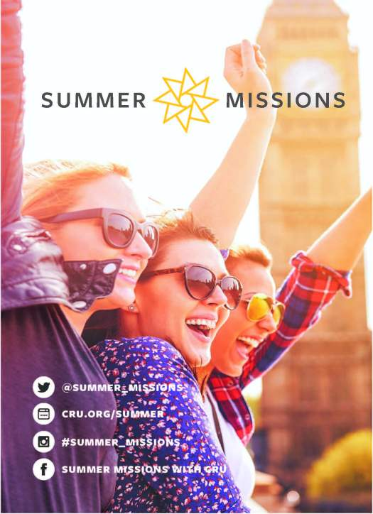 Summer Missions With Cru
